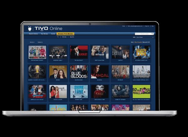 TiVo Online Laptop