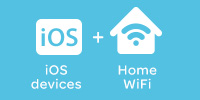 iOS devices + Home WiFi