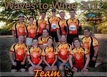 Team TiVo at 2010 Waves to Wine