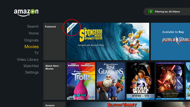 how to download amazon prime videos