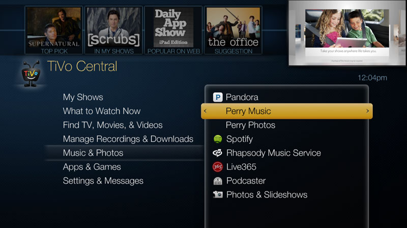 How to stream music from your PC | TiVo
