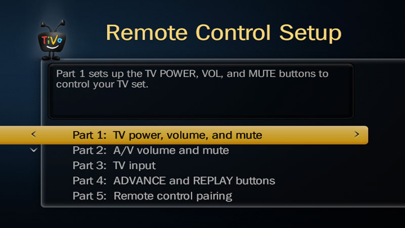 Guideshow Toget Connected How To Program Tivo Remote