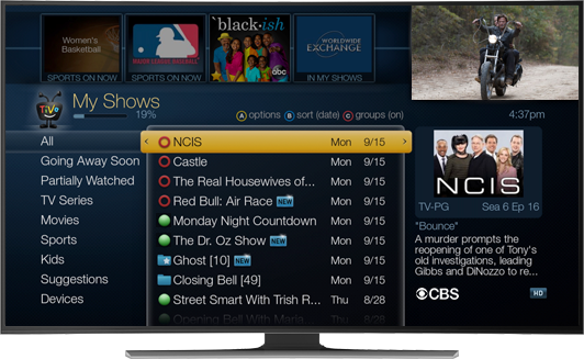 TiVo BOLT for OTA channels, DVR features and streaming apps