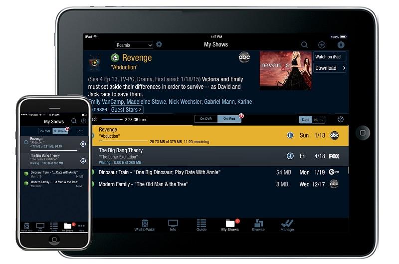 Buckeye Broadband Express TV TiVo iOS