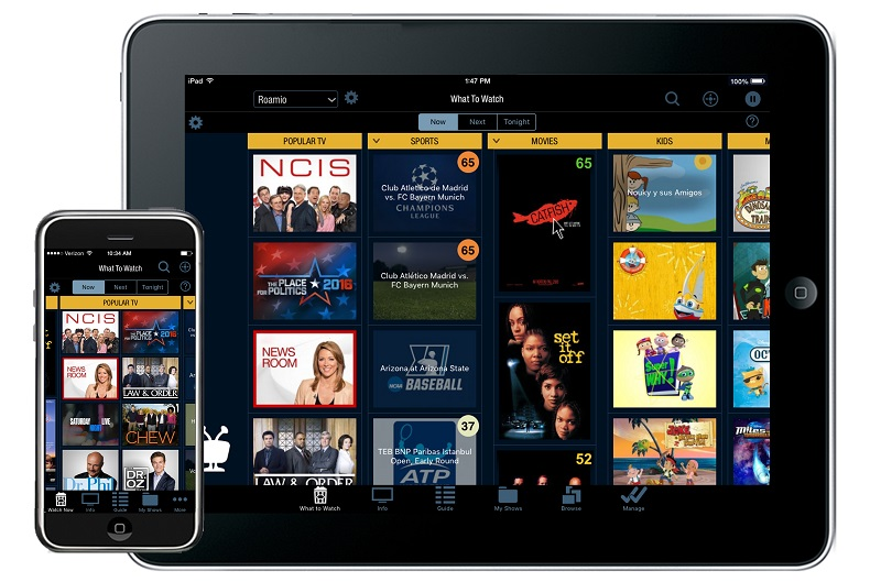 Guideshow touse tivo app for ipad and iphone do just about everything you can with your tivo remote control find and watch shows schedule recordings control live tv and recorded shows sciox Choice Image