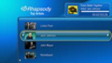 Rhapsody - artist list