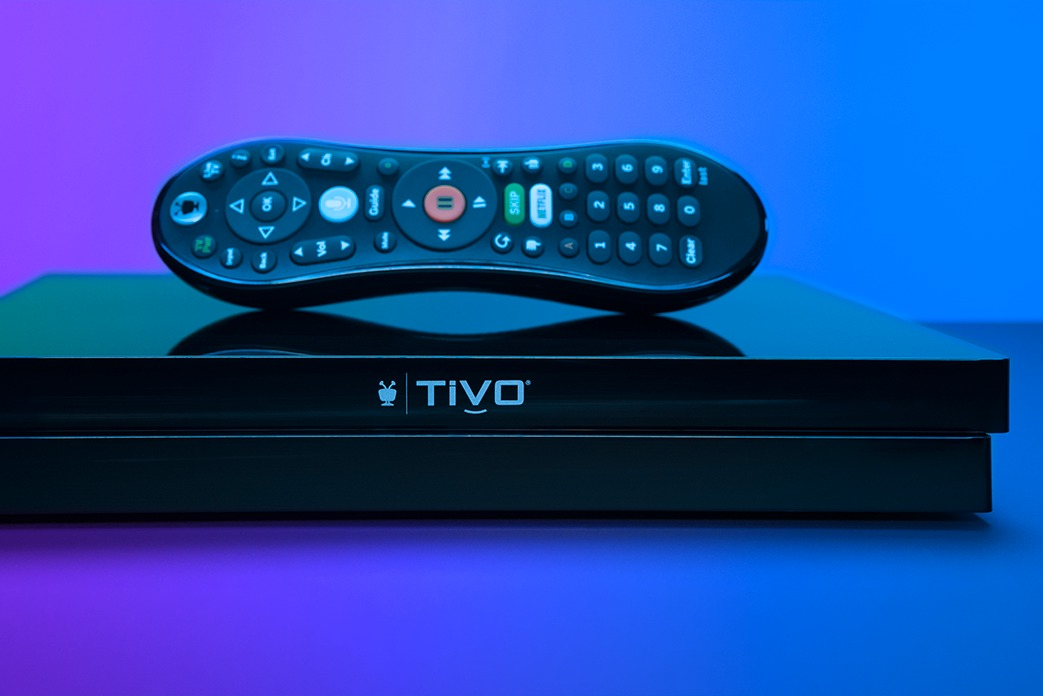 TiVo EDGE for antenna black with TiVo remote