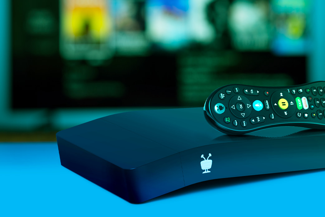 TiVo BOLT OTA black dvr with remote