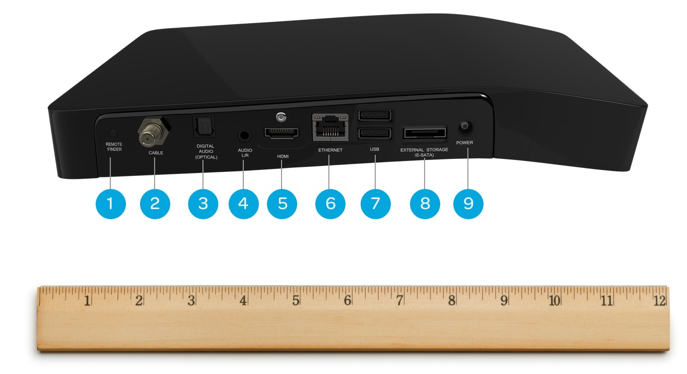 BOLT plus DVR back input angle, hdmi, 4k, usb support