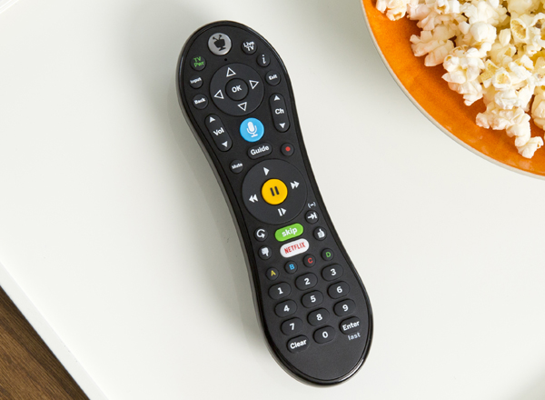 dvr voice remote control for cable and OTA, black
