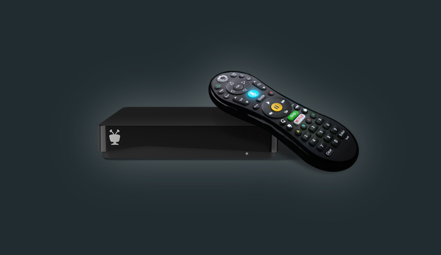 front tivo mini vox with remote