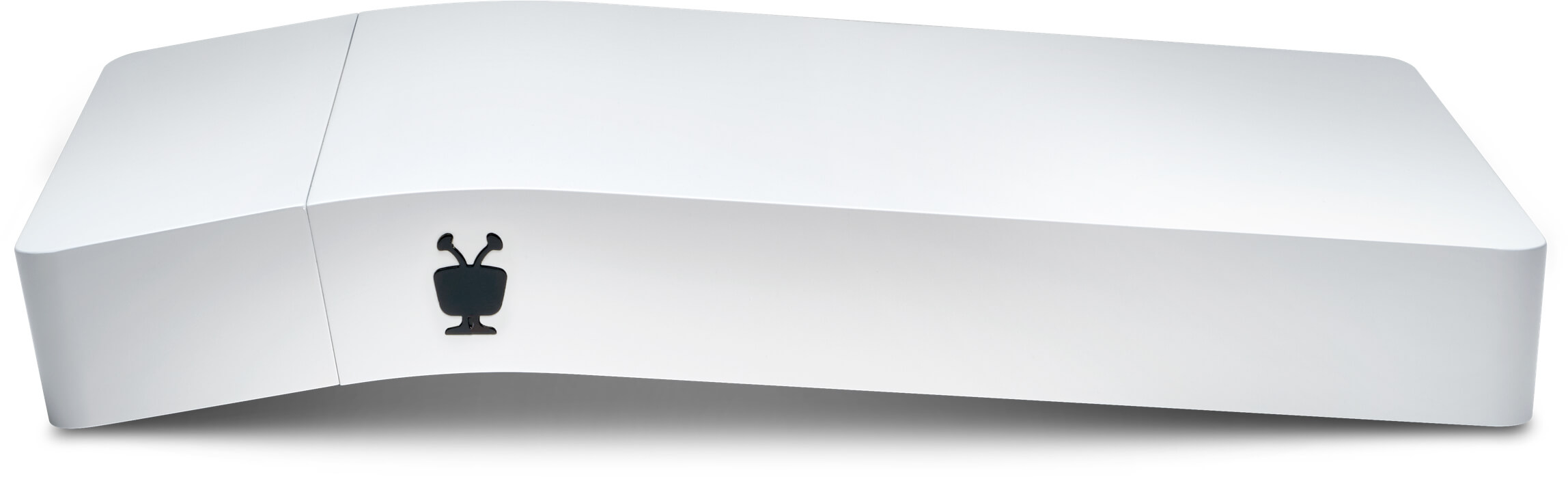 large white tivo bolt vox with tivo logo showing